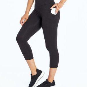 NWT Marika Tummy-Control High-Waist Crop Leggings